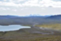 Islande piste F35 montagnes lac