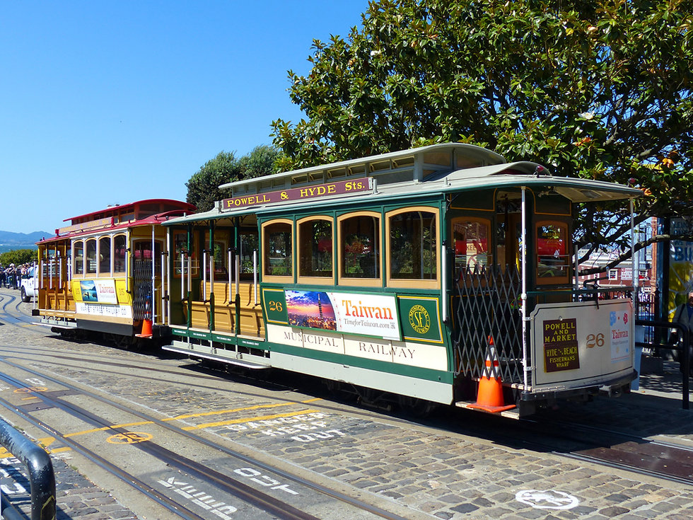San Francisco Cable Car Powell Market
