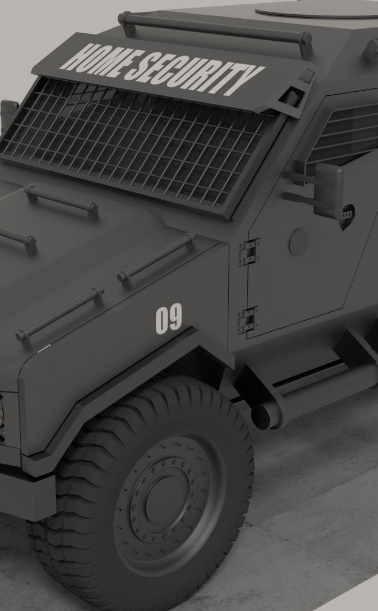 Armored Vehicles & Supplies