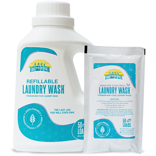 My Green Fills - Laundry Products