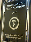 Dr. Stéphane Provencher aka Dr. Awesome awarded Chiropractor of the Year 2012