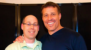 Dr. Stéphane Provencher aka Dr. Awesome with Tony (Anthony) Robbins