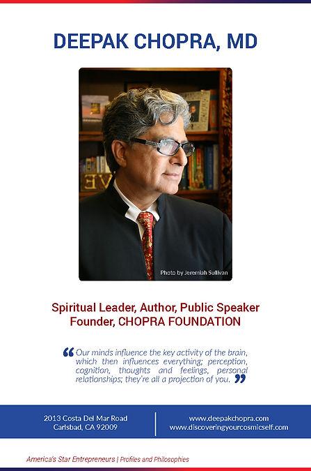 Deepak Chopra, , Stephane Provencher, Stéphane Provencher