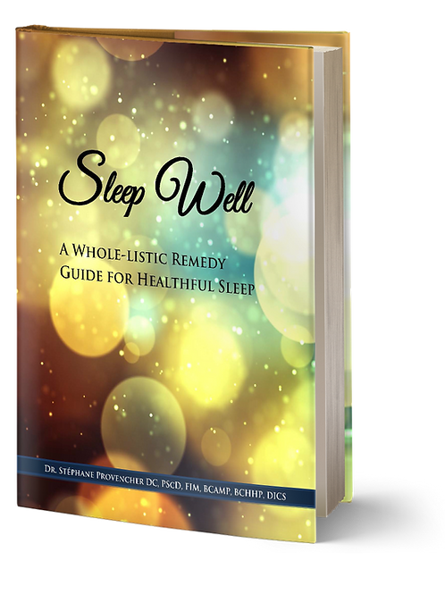 Sleep Well - A whole-listic remedy guide for healthful sleep