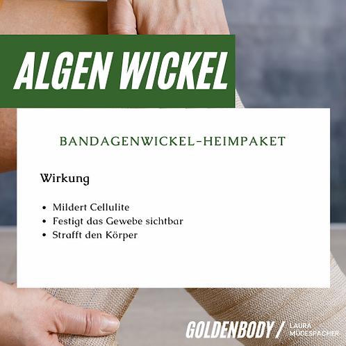 Algen Wickel (Wassereinlagerungen)