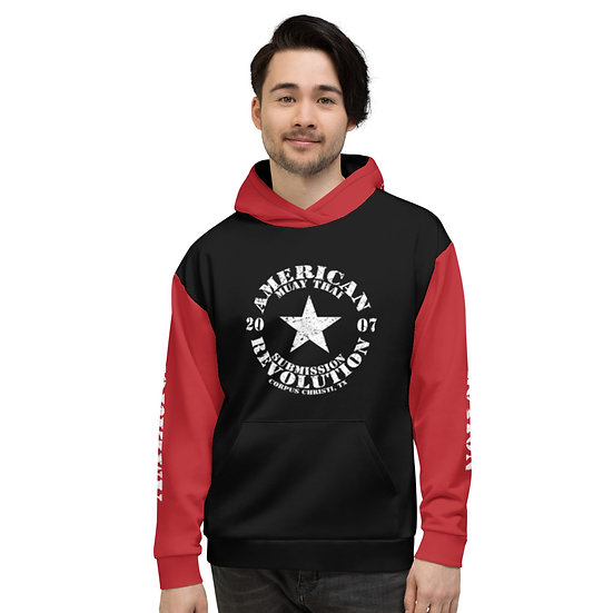 Unisex Black/Red 'Mix Up' American Revolution Hoodie