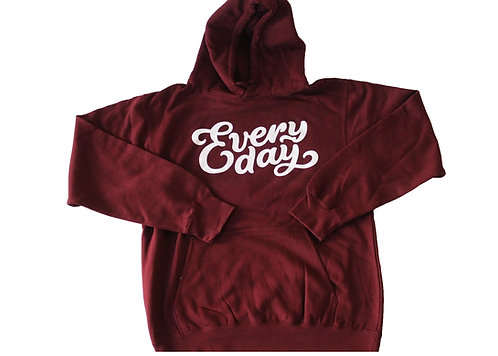 Classic Every Day Maroon Hoodie