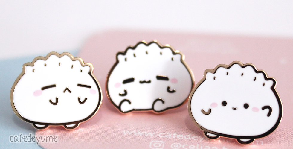 Har Gow Buddies Mini Enamel Pin