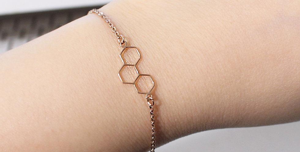 Bee Leaf Bracelet