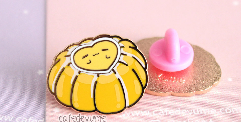 Sweet Mango Pudding Mini Enamel Pin