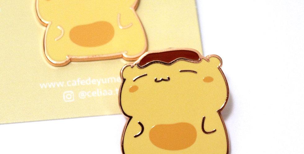 Puddin' Beary Pin