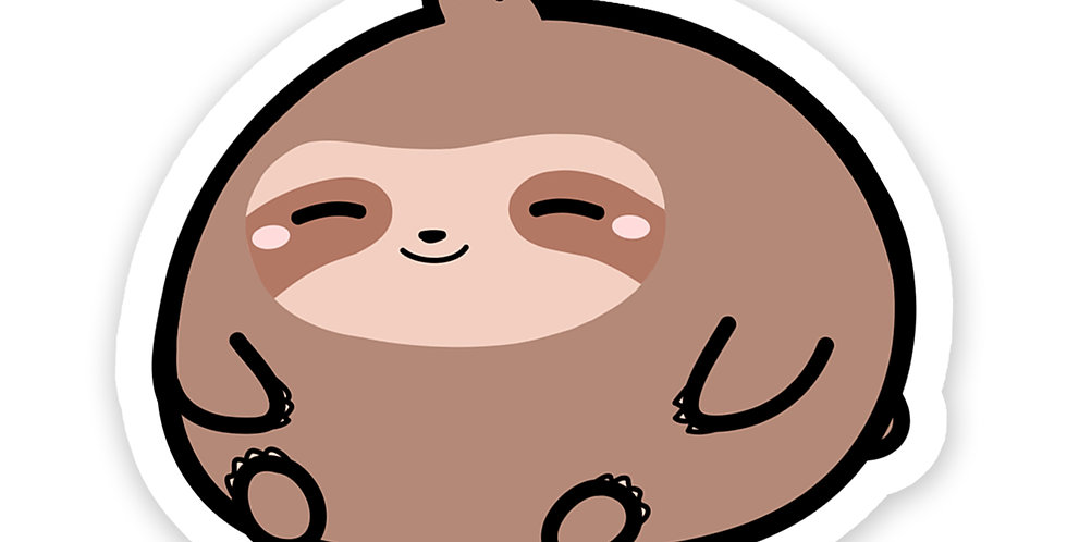 Roth the Sloth Vinyl Sticker