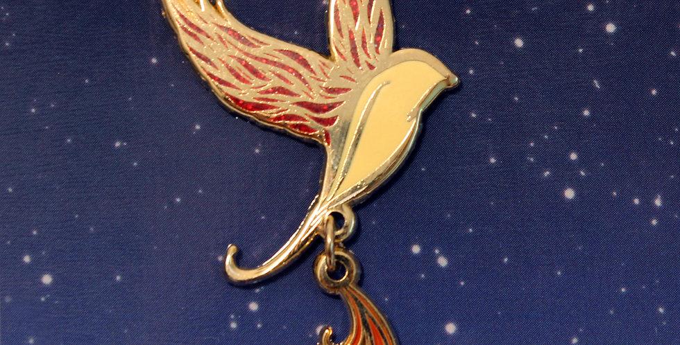 Firebird Enamel Pin