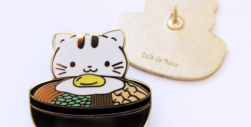 Kittenbap Enamel Pin