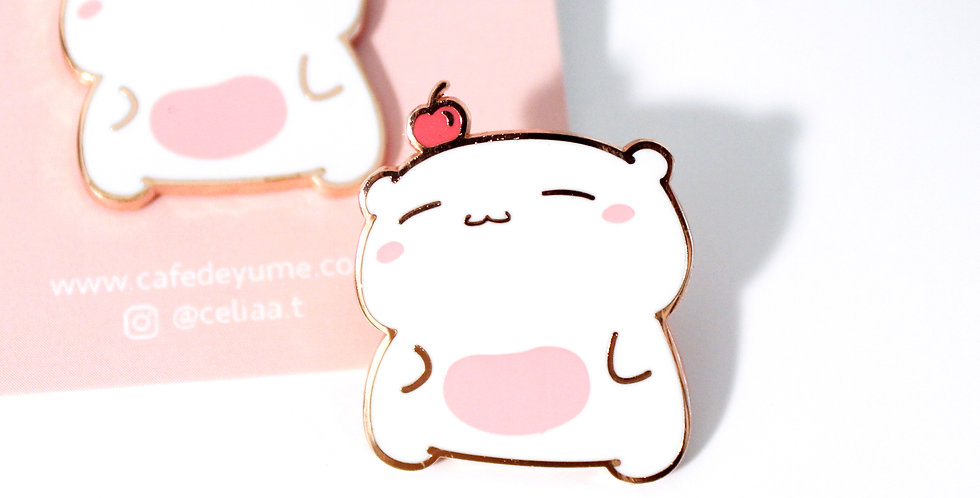 Beary Berry Pin