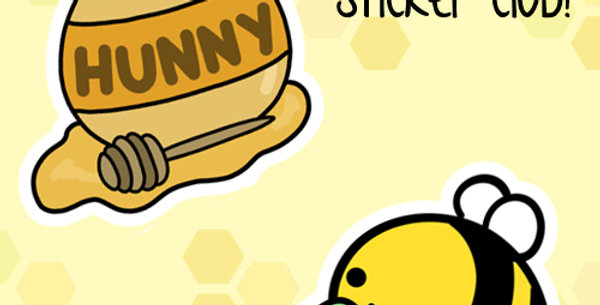 Jan 2019 - Bee Leaf Stickers