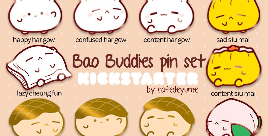Bao Buddies Enamel Pin | Preorder