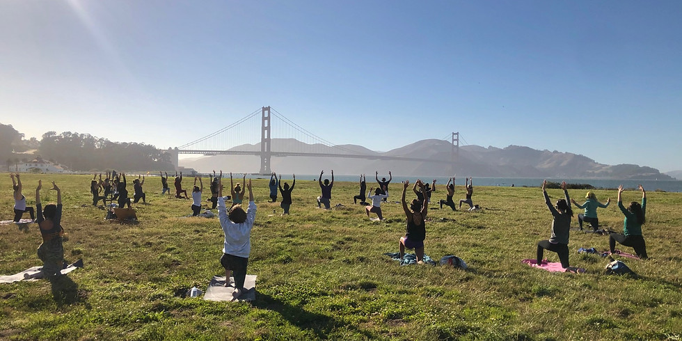 Sunset Yoga and live sound journey with Nat and Joshua