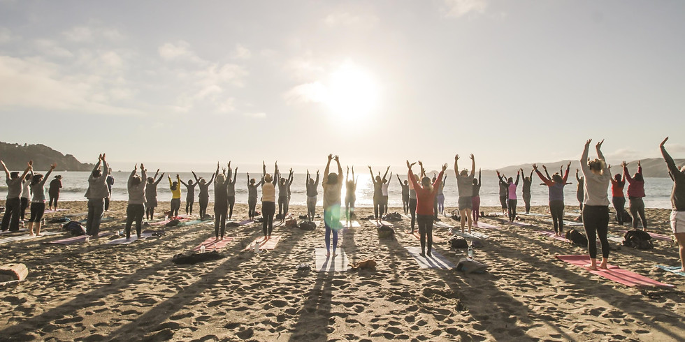 Wednesday Beach Yoga with Nat Kendall