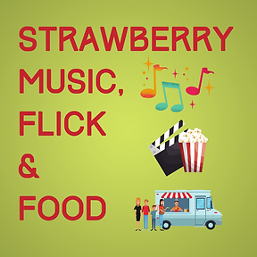 Strawberry Music Flick & Food for websit