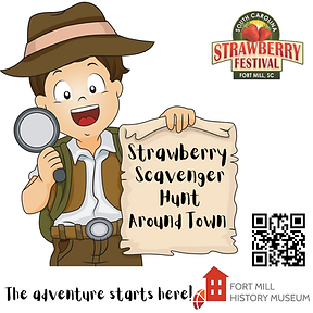 Strawberry Scavenger Hunt Around Town IG