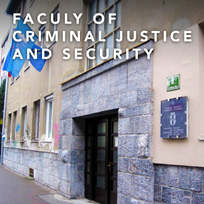 FACULTY OF CRIMINAL JUSTICE AND SECURITY