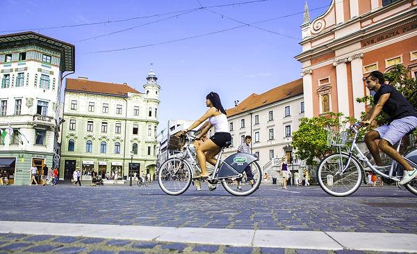 BicikeLJ, bycicle ljubljana, student transportation