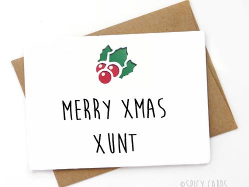Merry Xmas Xunt