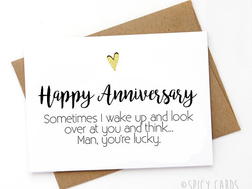 Anniversary - Man, you're lucky