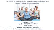 Aulas de Yoga - 2016