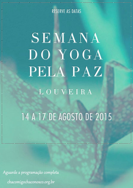 Semana do Yoga pela Paz 2015