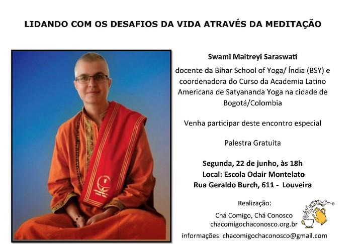2o Satsang - Lidando com os desafios da vida através da Meditação