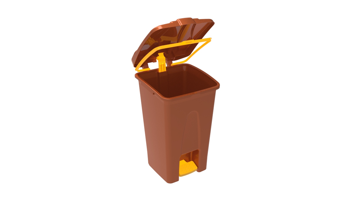 Çöp Kovası Pedallı