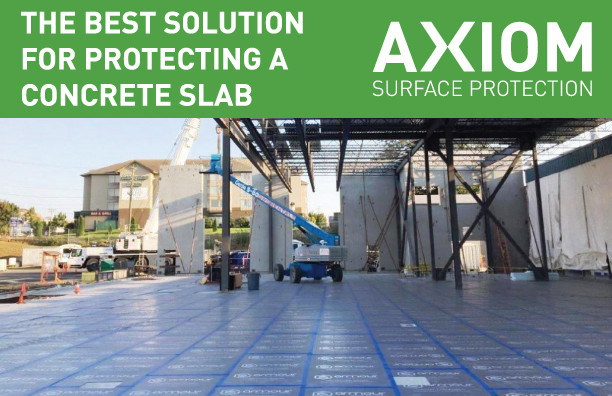 THE BEST SOLUTION FOR PROTECTING A CONCRETE SLAB