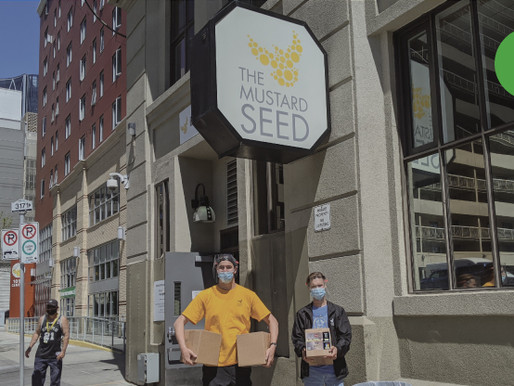 AXIOM GIVES BACK | DONATION OF DISINFECTANT SPRAY TO THE MUSTARD SEED DURING COVID-19