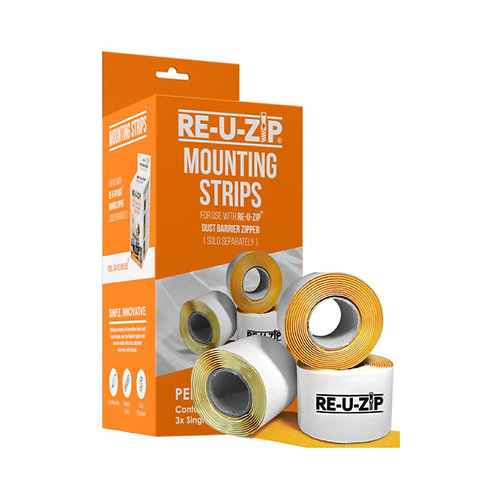 RE-U-ZIP MOUNTING STRIPS