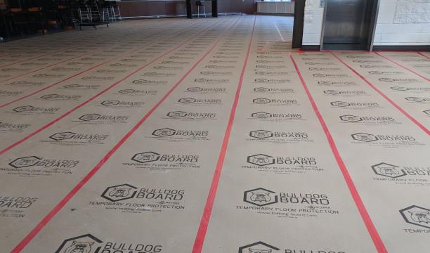 Bulldog Board Temporary Floor Protection In Canada