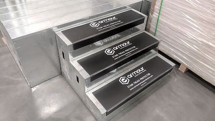Stair Tread & Riser Protection   Axiom Surface Protection