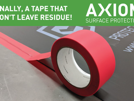 FINALLY, A TAPE THAT WON'T LEAVE RESIDUE!