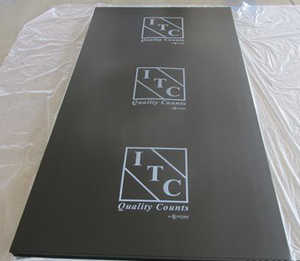 ITC Construction Custom Print Armour Protection Board - Black