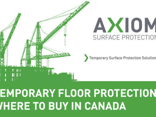 FLOOR PROTECTION - WHERE TO BUY IN CANADA