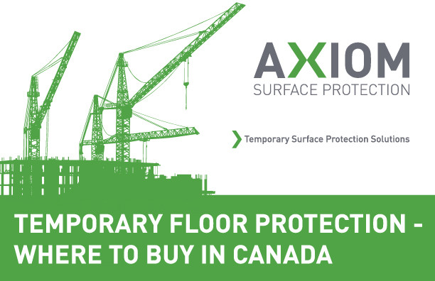 Where to buy Temporary Floor Protection in Canada