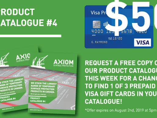 THE NEW CATALOGUE IS HERE! WELCOME TO THE AXIOM PRODUCT CATALOGUE #4