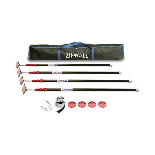 ZIPWALL KIT - 10FT
