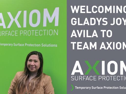 WELCOMING GLADYS JOY AVILA TO TEAM AXIOM!