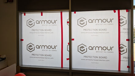 Glass & Window Protection | Axiom Surface Protection