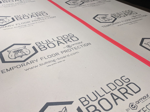 TEMPORARY FLOOR PROTECTION BRANDS - COMPRESSED PAPERBOARD FOR CONSTRUCTION SURFACE PROTECTION