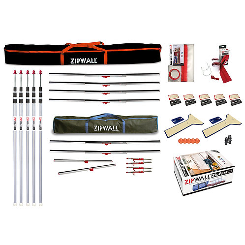 ZipWall Dust Barrier Toolkit