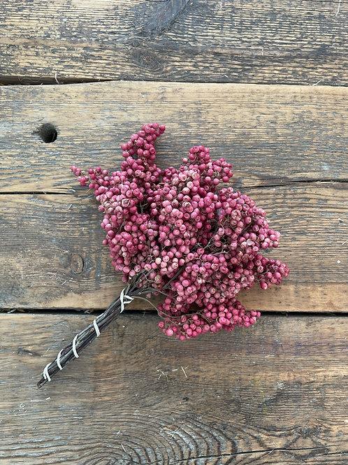 Pink Pepperberries