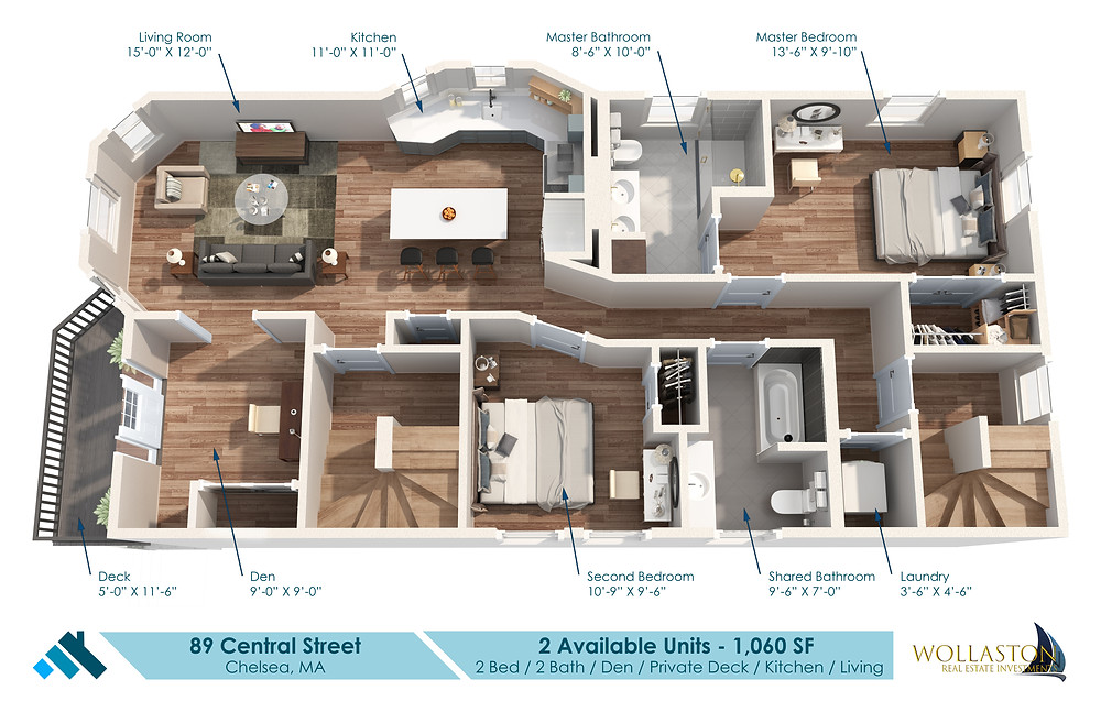 89 Central Ave Floorplans
